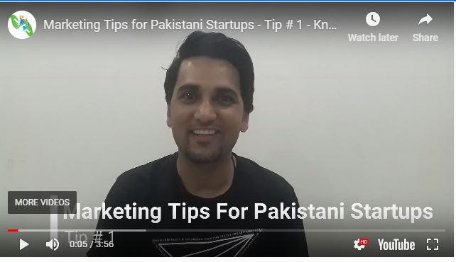 Marketing Tip for Pakistani Startups - marketist - parhley - parhlo - parho
