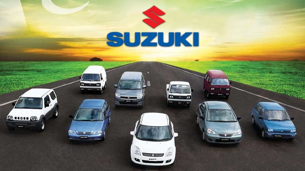 Pak Suzuki has stopped booking for few cars
