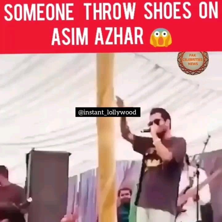 Shoe at Asim Azhar