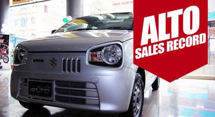 Suzuki Alto sales