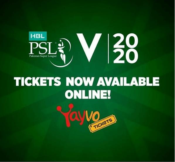 PSL 2020 tickets