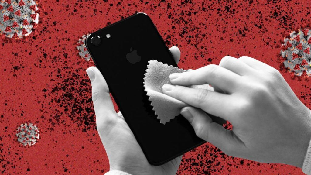 CoronaVirus update International Ministry says to clean your phone twice a day