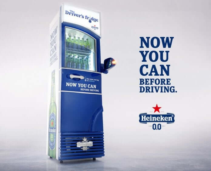 Drink and Drive by Heineken, latest advertising campaign encourages drivers to drink and drive. While everyone including brands and traffic police encourages not to drive when you are drunk but Heineken came up with idea of now you can drink and drive.