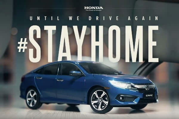 Latest ad of Honda civic is shot entirely at home