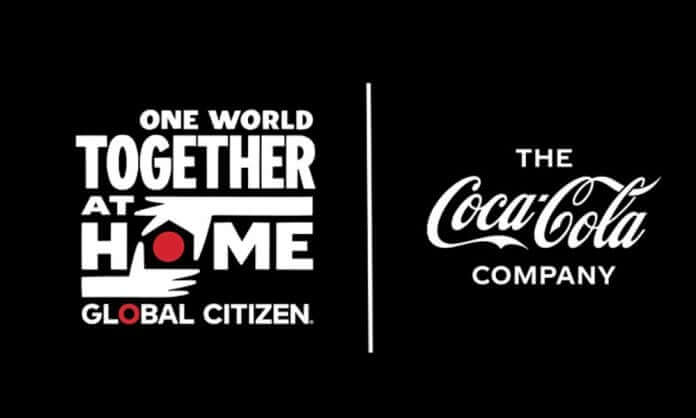 One World, Together at Home by Coca Cola.