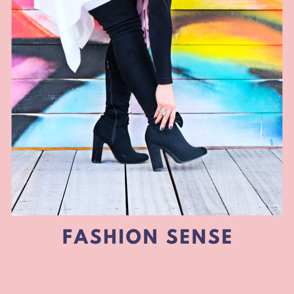 Fashion sense - dressing sense
