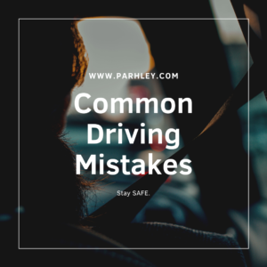 Common Driving Mistakes - parhley