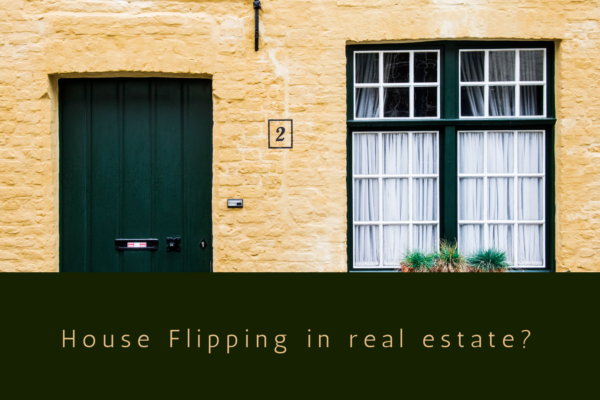 House Flipping in real estate?