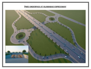 PWD Underpass on Islamabad Expressway